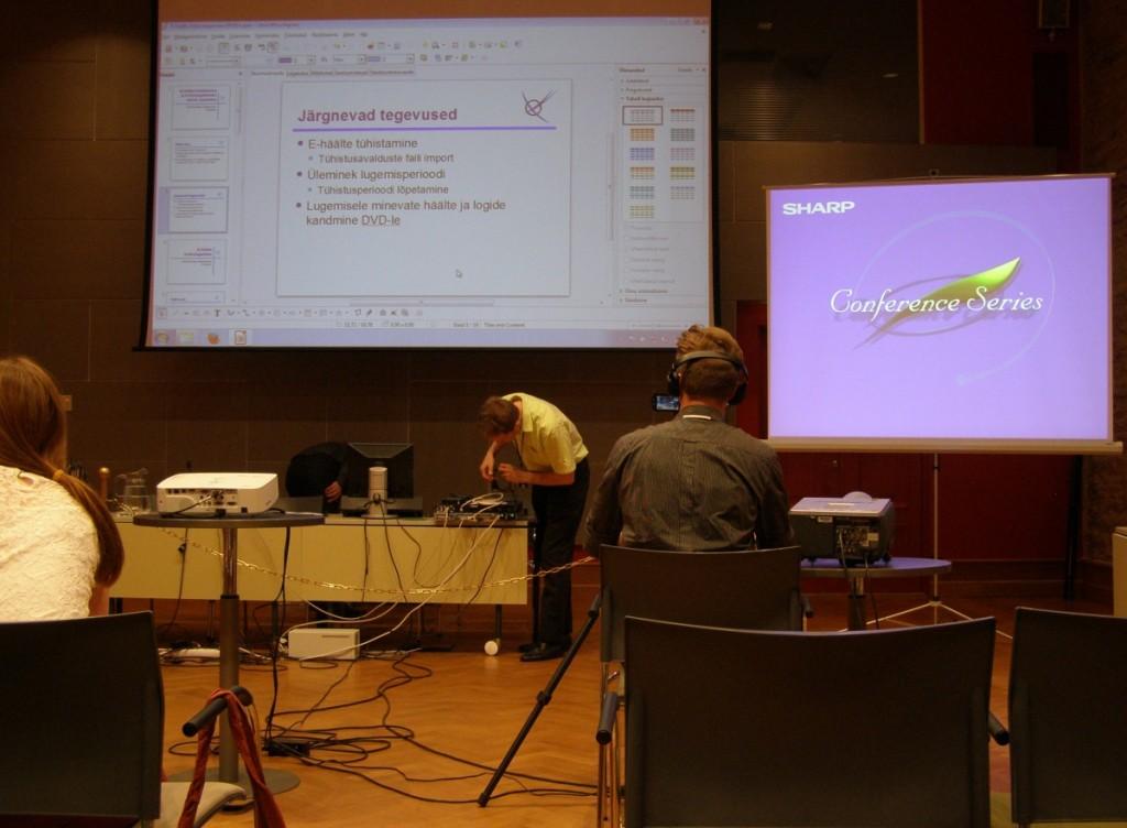 Serverite ümber ühendamine, et eraldi serveris selgitada valimiste tulemus.